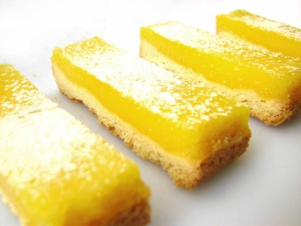 Lemon Cookie Bars With Lemon Cake Mix