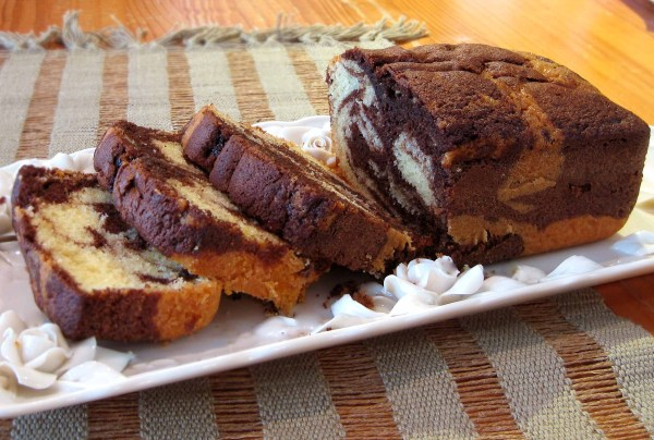 Rum-Scented Marble Cake | The Cookie Shop