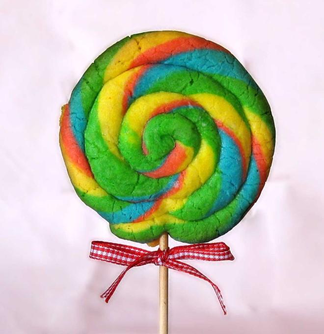 play dough lollypop