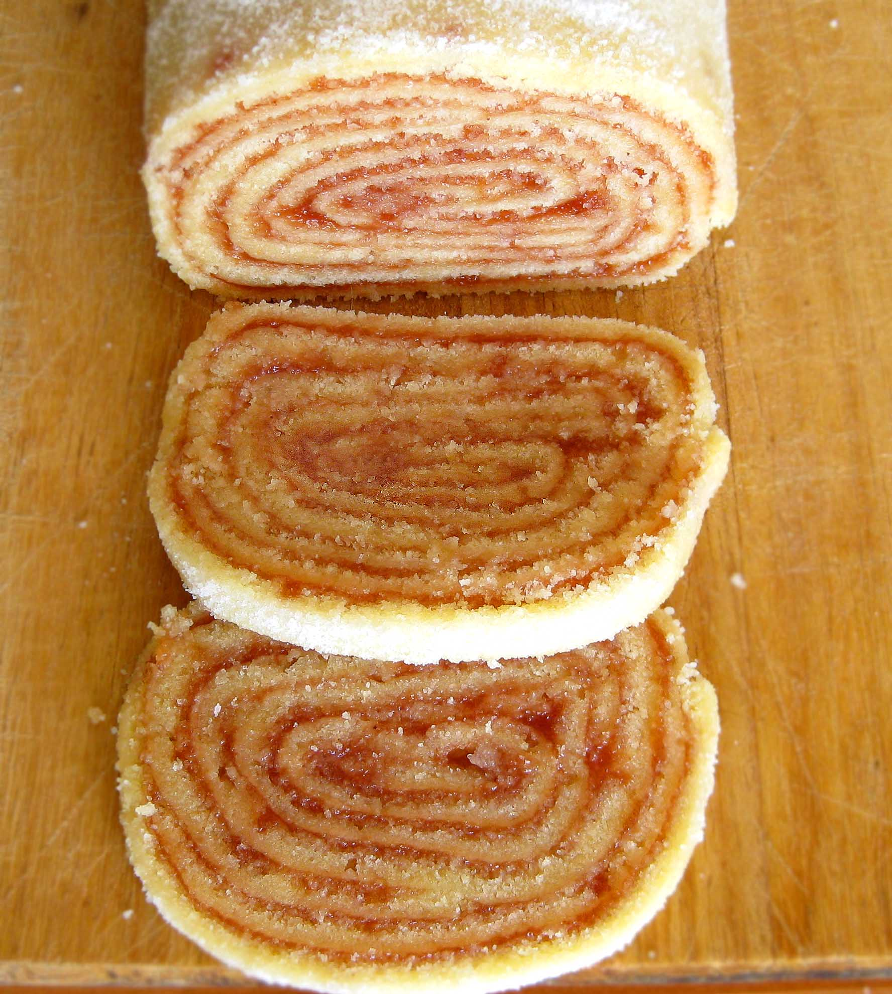 Cake Desserts Pictures Recipes : The day I was featured on a magazine   Guava Roll Cake ...