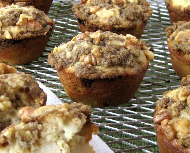 muffin pera close