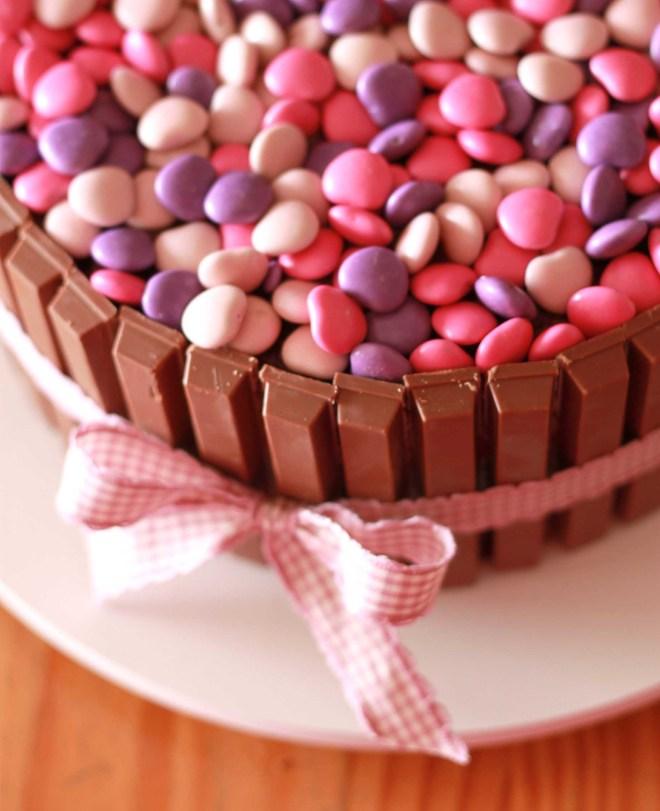 Receitinha Do Truque Bolo De Kitkats E MampMs The Cookie