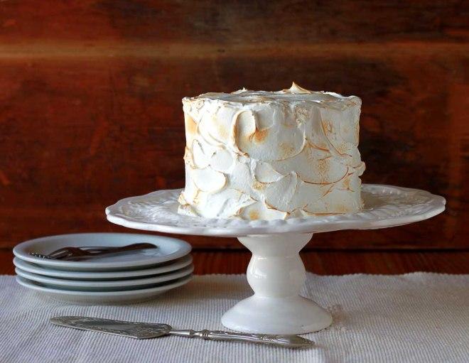 bolo de coco e limão
