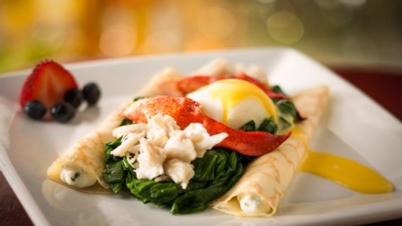 lobster crepe