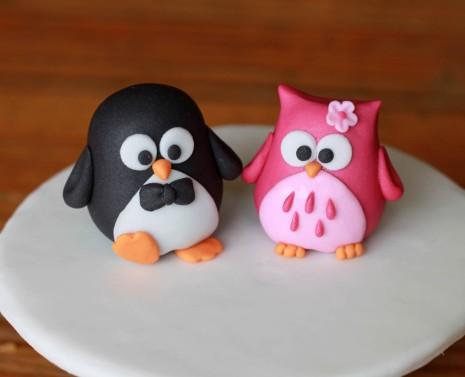 Pingüinho <3 Corujinha