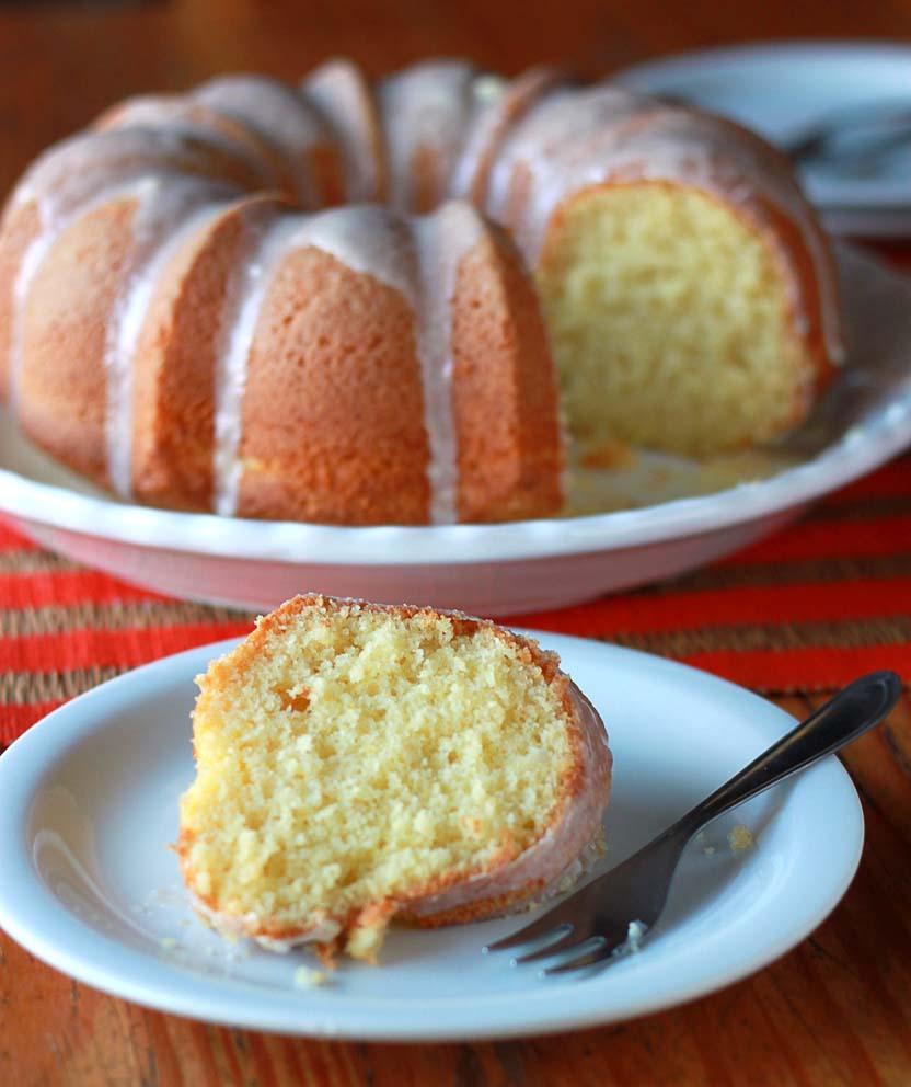 bolo preguiçoso de laranja